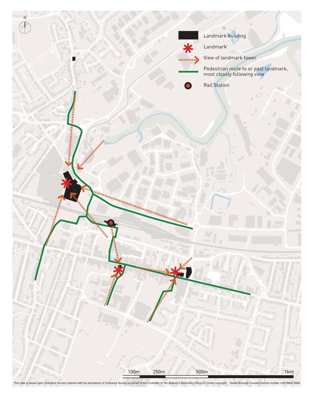 Legibility Study Architecture Urban Design Site Analysis