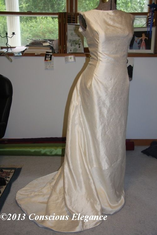Conscious Elegance sustainable eco wedding dress Caroline in ...