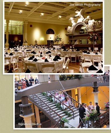 Wedding Reception At The Old Post Office In Downtown St Louis This