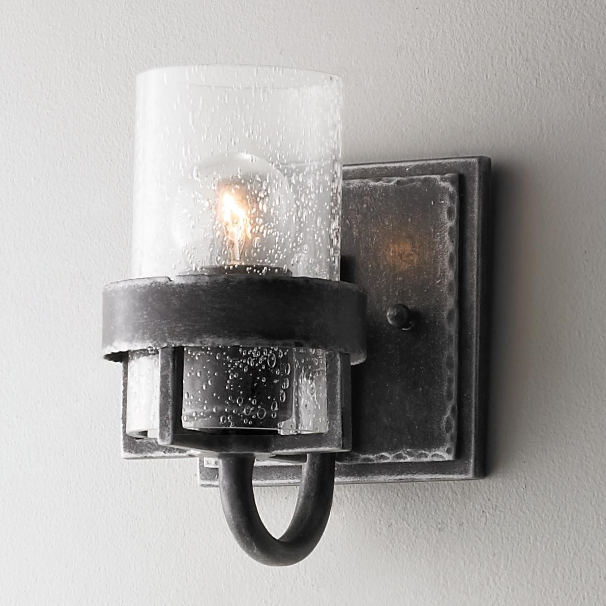 factory vintage iron wall sconce