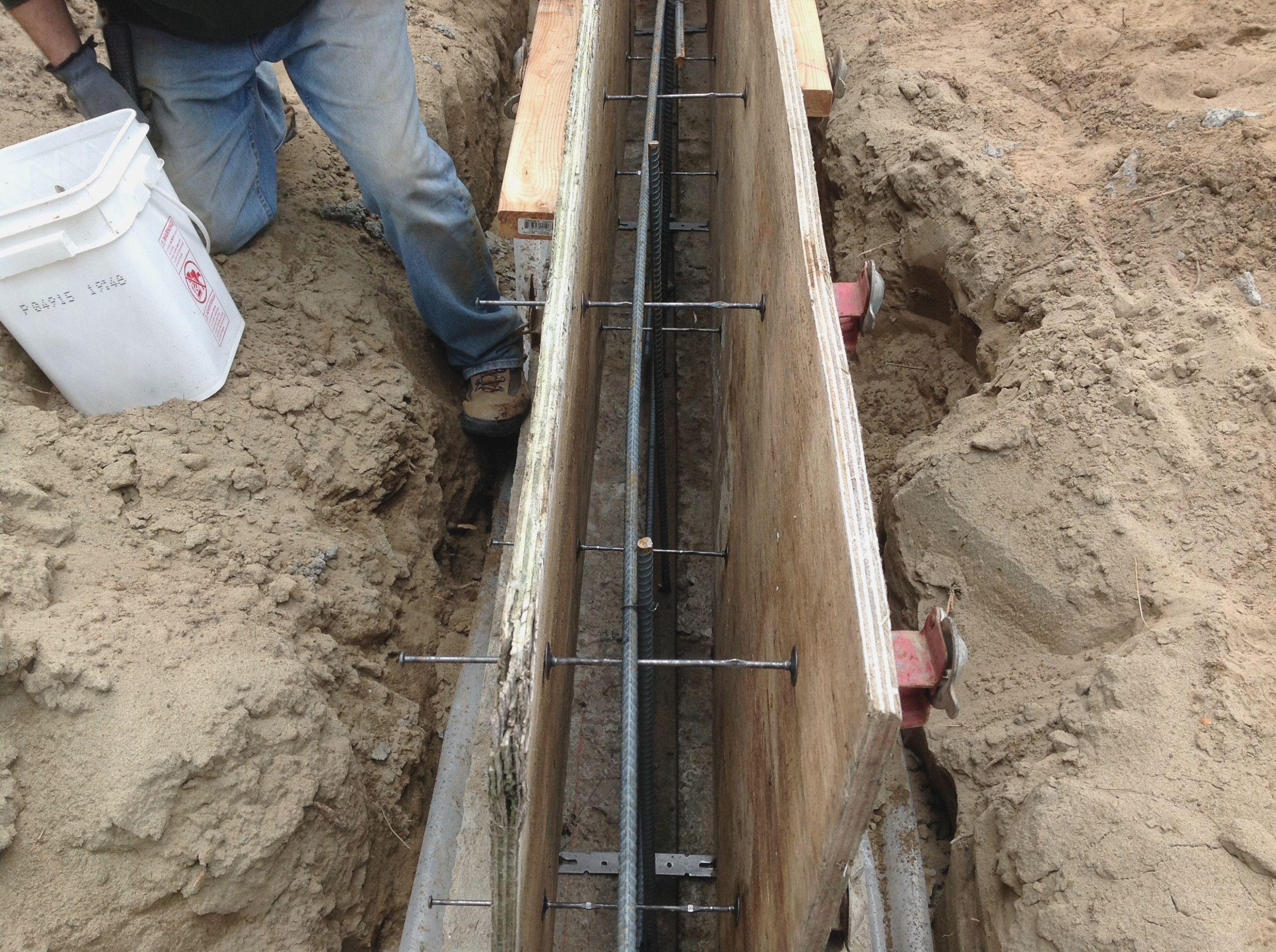 Foundation Form Ties Heart Impulsar In 2020 Concrete Wall Concrete Block Walls Concrete Forms