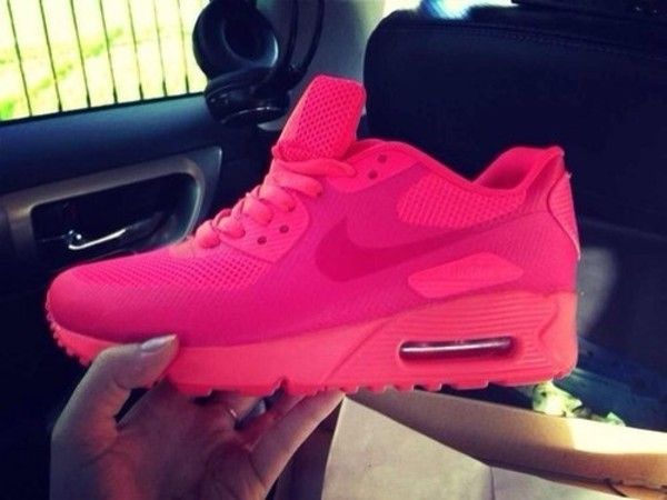 nike air max 90 hyperfuse all pink