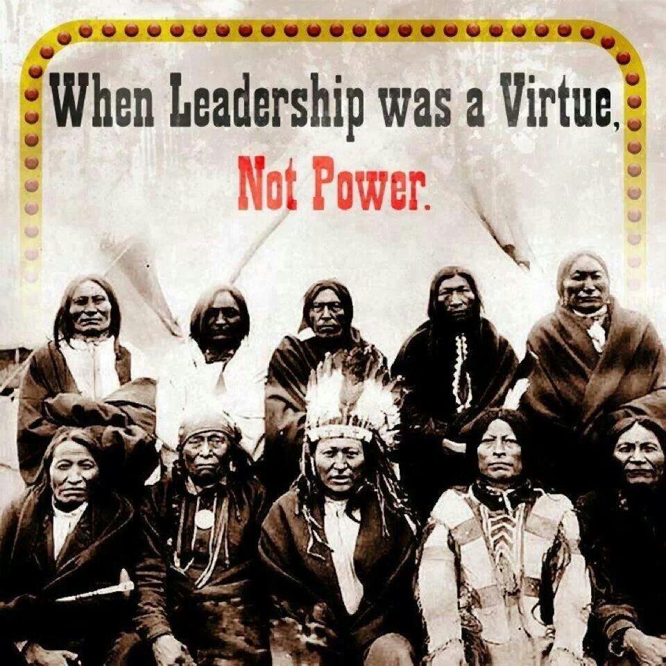 Native American Indians Leadership Beautiful People Native