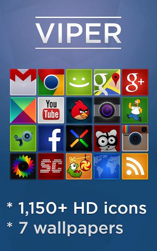 VIPER Go Apex Nova theme v2.3.0 Hd icons, Theme, Live