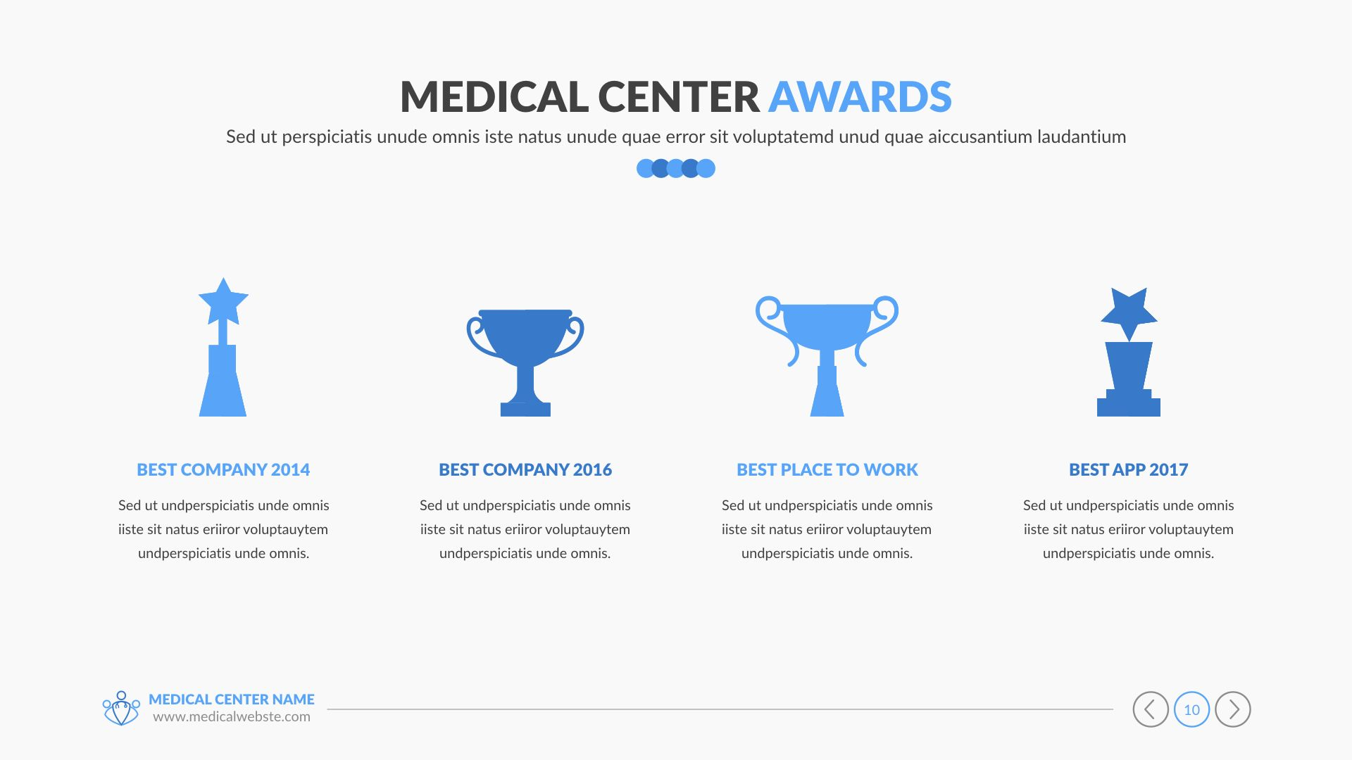 Medica Medical And Healthcare Keynote Pitch Deck In 2020 Medical Best Places To Work Health Care