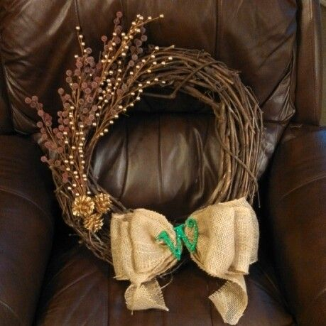 Christmas holiday wreath