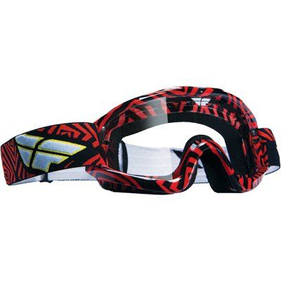 3975dc2944b7 Fly Racing Zone Adult Motocross Off-Road Dirt Bike Motorcycle Goggles  Eyewear -