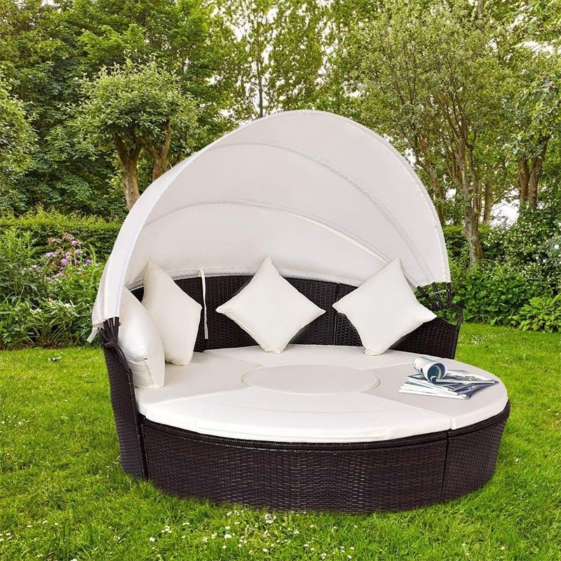 sets patio daybed sofa