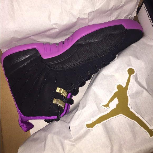 05ef6a12682 Shop Women's Jordan Black Purple size Various Athletic Shoes at a ...