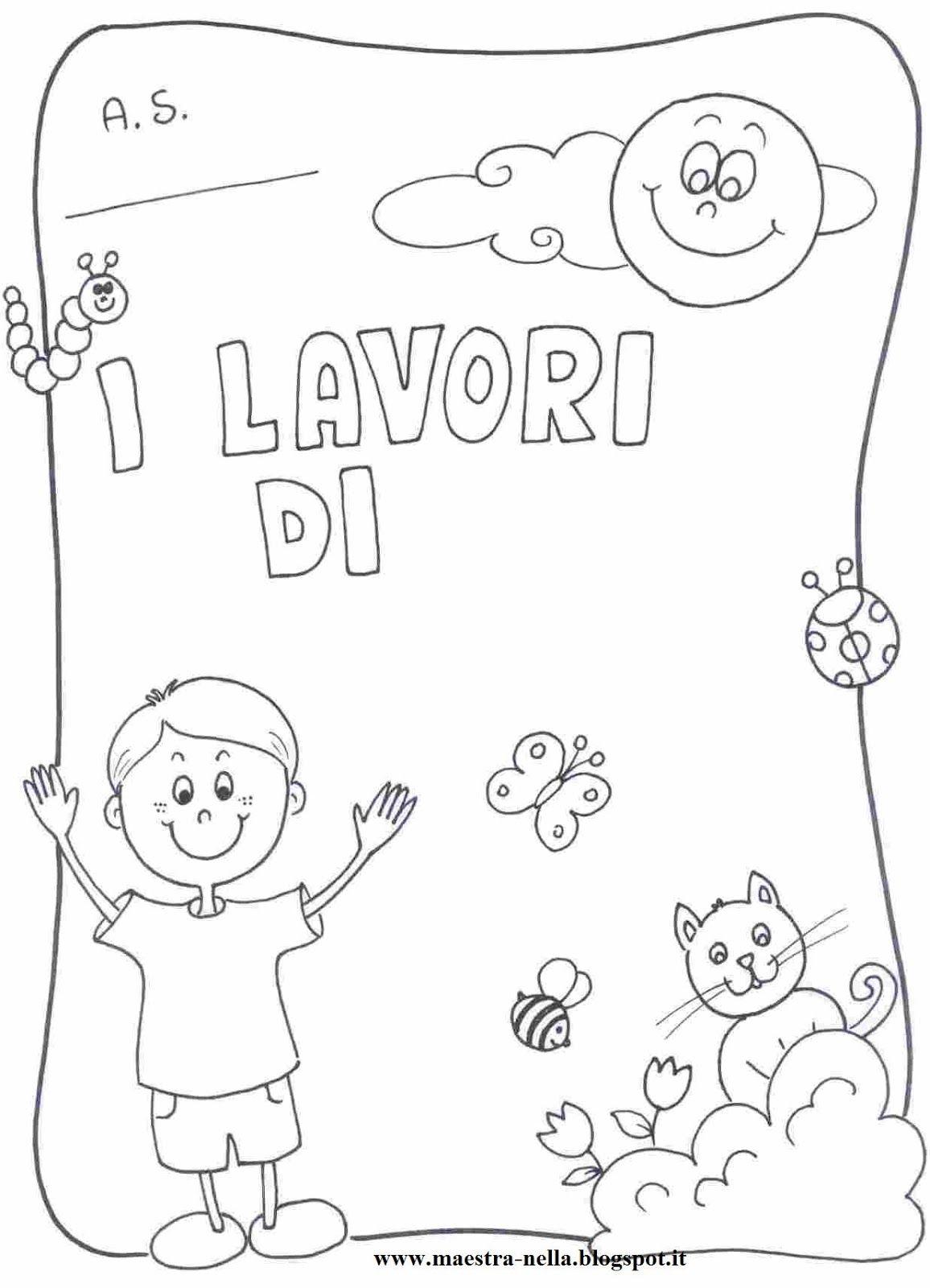Disegni idee e lavoretti per la scuola dell 39 infanzia e - Libro immagini a colori ...