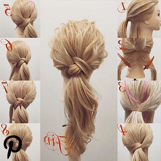 Use the loop tool to pull hair through Use the loop tool to pull hair through
