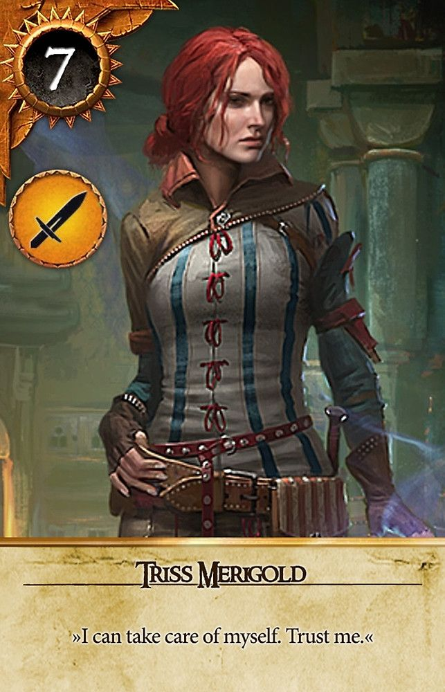 Triss merigold gwent card the witcher 3 wild hunt witcher triss merigold gwent card the witcher 3 wild hunt solutioingenieria Image collections