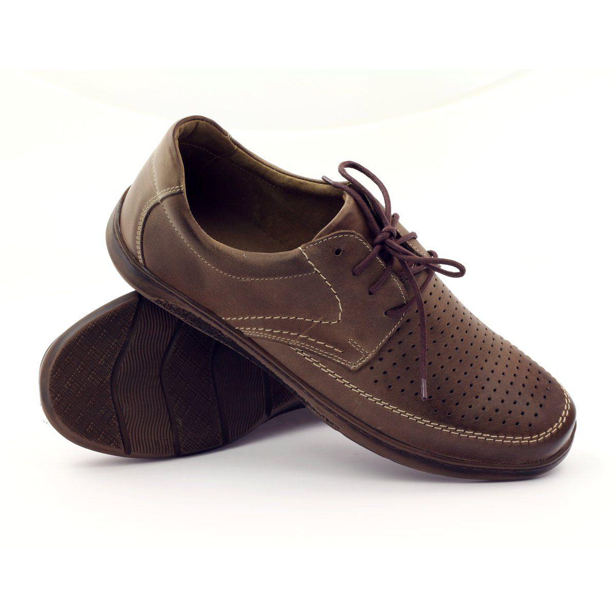 Shoes Men S Riko Riko Men S Shoes With Perforated Shoes 848 Brown Perforated Shoes Mens Shoes Boots Men S Shoes