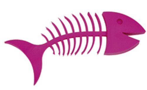 Porte savon poisson Wishbone, rose: Amazon.fr: Cuisine & Maison