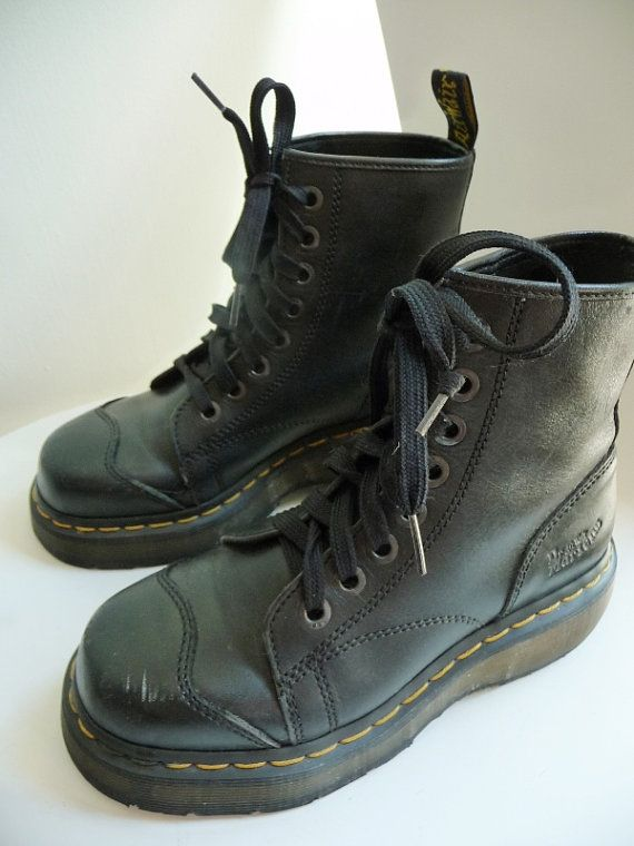 4ddfdacab Doc Martens AirWair Boots with Bouncing Soles Made in England Womens ...
