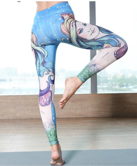 e8b88d5e817e4 Mermaid Yoga Pants in 2018 | Mermaid Lover | Pinterest | Mermaid ...
