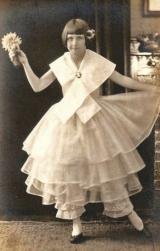 Vintage Postcard ~ Dancer by chicks57, via Flickr