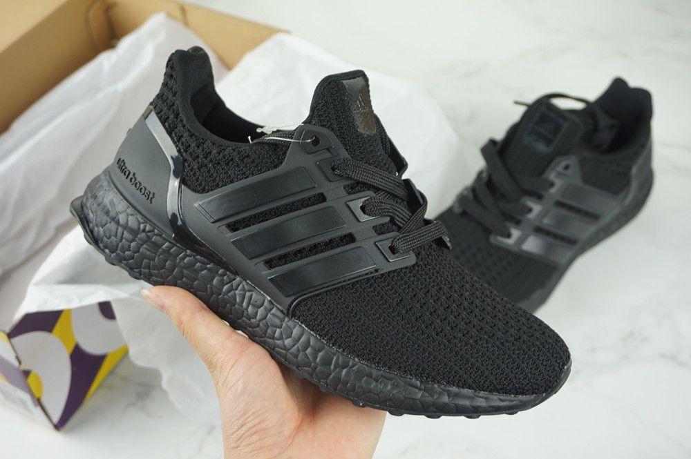 a29a79fce6b Adidas Ultra Boost 1.0 Triple Black BB4677 (2016) Size 9.5 Running Shoes   fashion