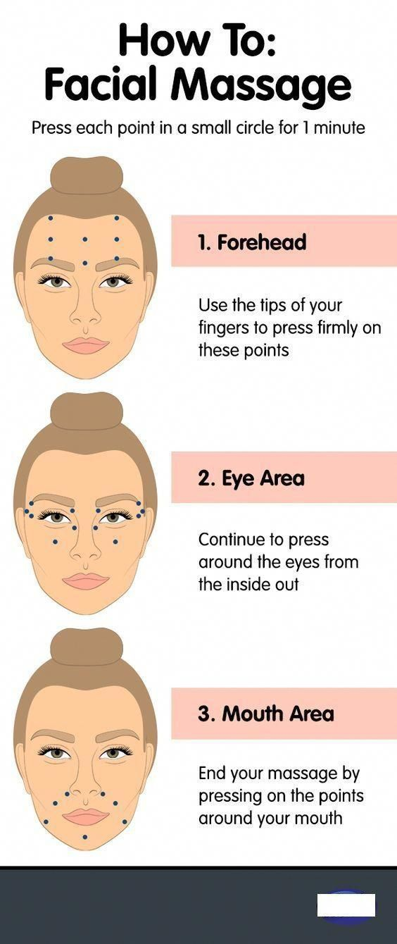 FACIAL MASSAGES TO PREVENT WRINKLES! Fast and Easy