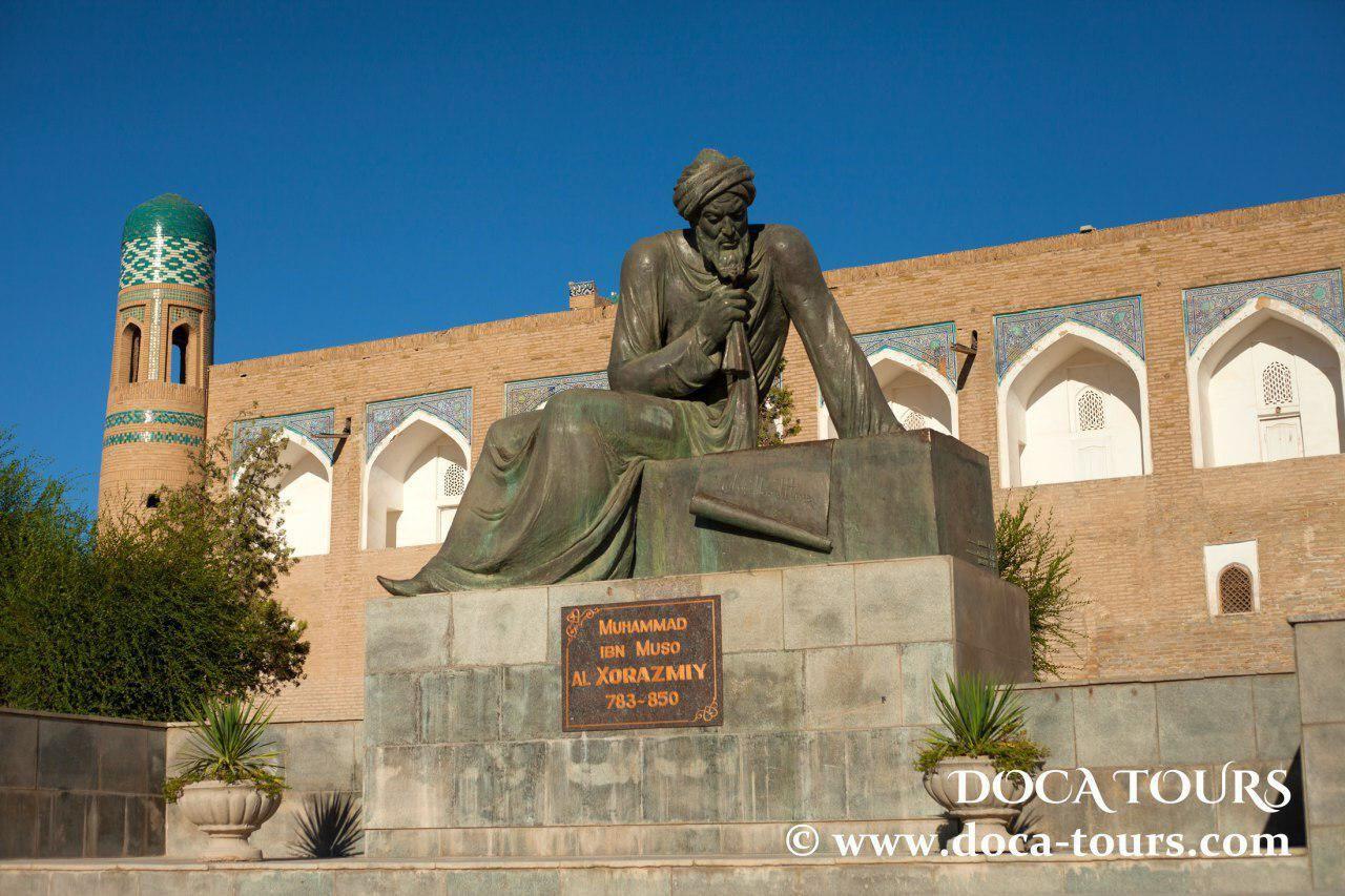 Al Khwarizmi Was Famous Mathematician Astronomer Geographer From Khoresm Tours Statue Of Liberty Landmarks