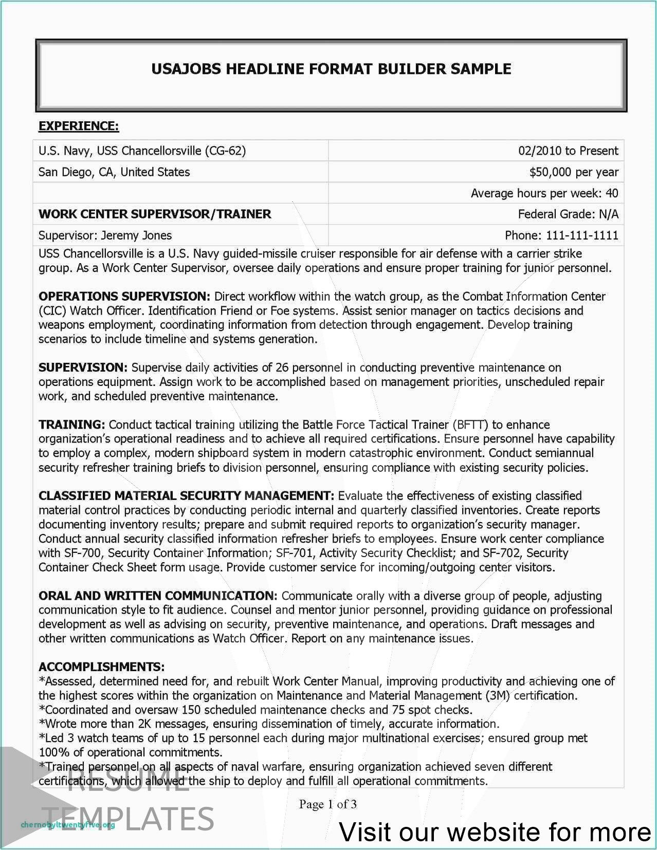 Cover Letter Example General In 2020 Federal Resume Resume Examples Project Manager Resume