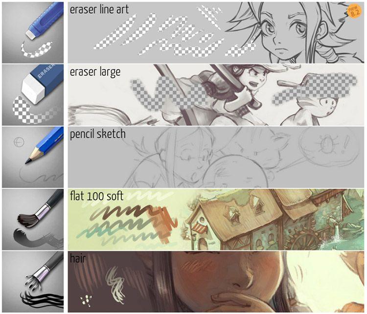 Free Krita Brushes Brush Packs For Ists Digital Art Krita