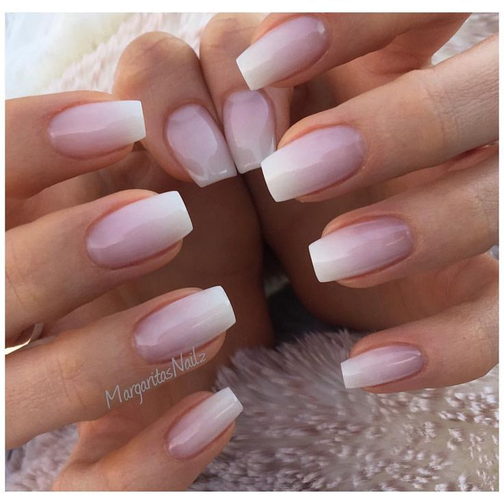 Natural Nail Art, Natural Nail Designs, Faded Nails, Graduation ...