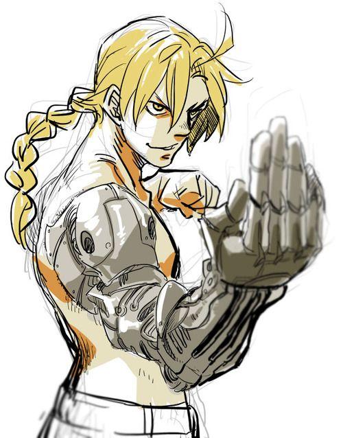 Ed from Fullmetal Alchemist