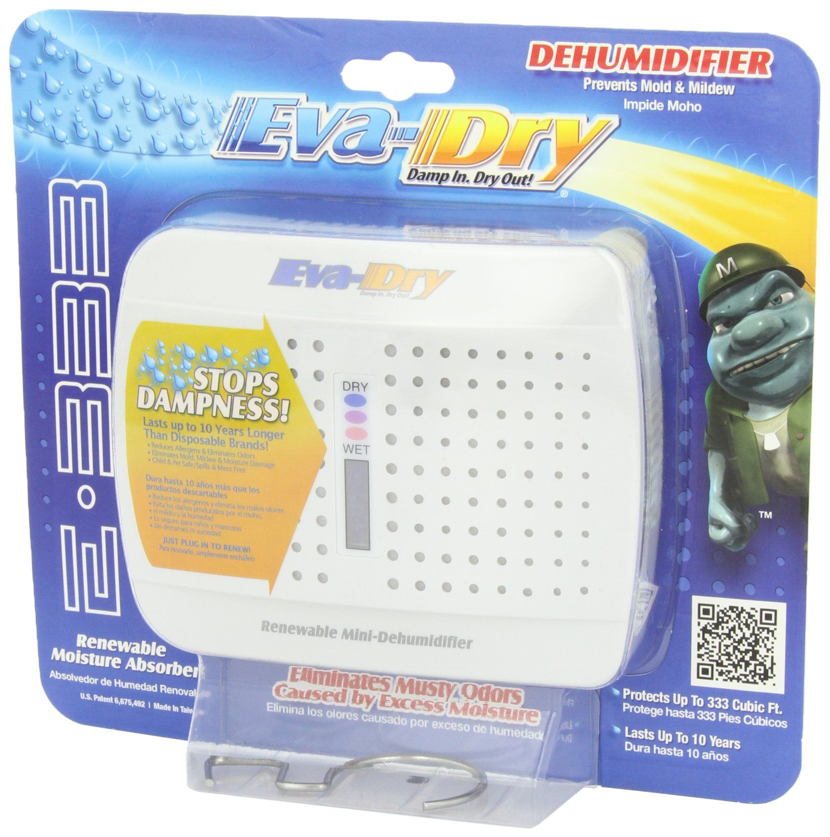 Evadry Renewable E333 Wireless Mini Dehumidifer