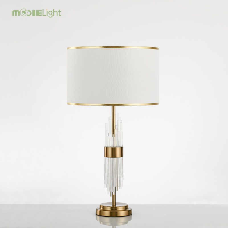 Modern Glass Table Lamps Nordic Simple Bedroom Bedside Reading