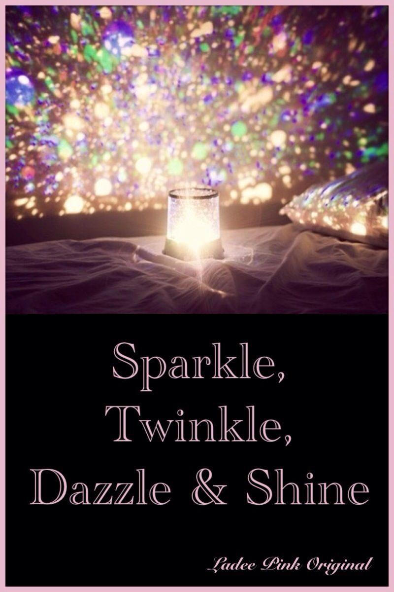 Sparkle twinkle ...
