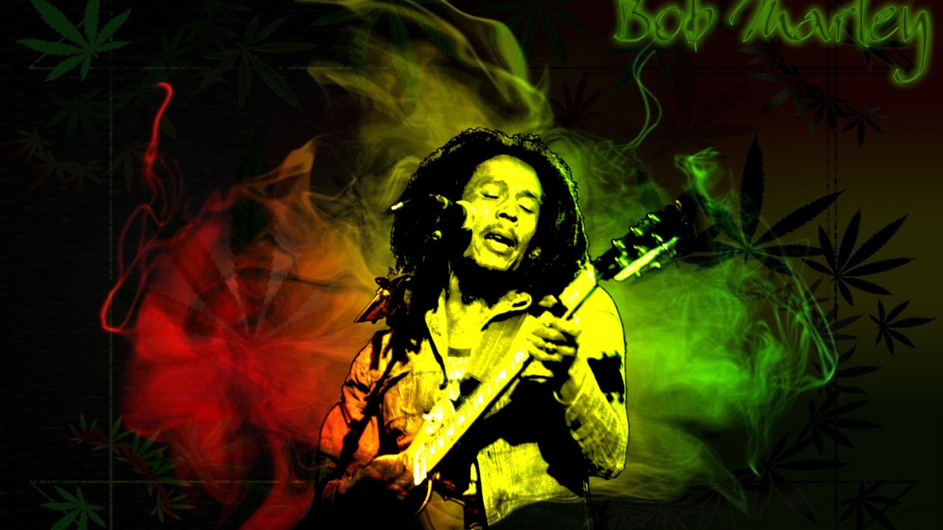 Image For Bob Marley Poster One Love Wallpaper Rasta In 2019