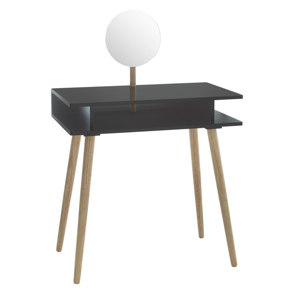 Best Cato Black Dressing Table With Mirror Green Dressing 400 x 300