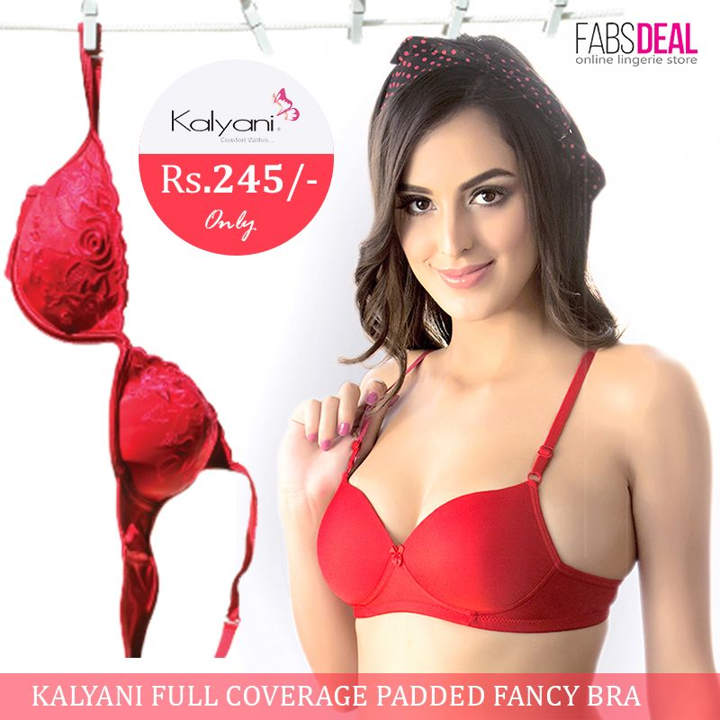 d7e1bc9b7ea45 FabsDeal presents attractive and comfortable designs in Kalyani Bra ...
