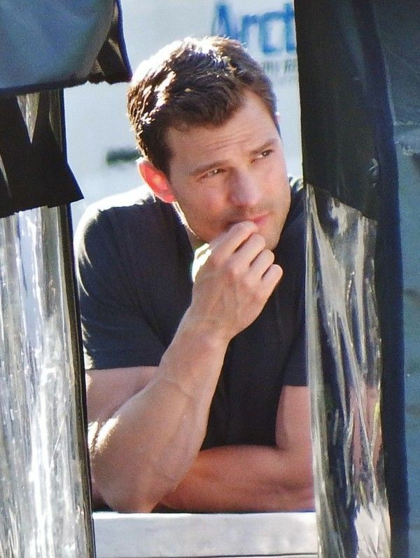 52042655 Actor Jamie Dornan was seen filming crash scenes in the helicopter Charlie Tango in Vancouver, Canada on May 2, 2016. Jamie's wife Amelia Warner is reportedly getting jealous of co-star Dakota Johnson's and Jamie chemistry on set. FameFlynet, Inc - Beverly Hills, CA, USA - +1 (310) 505-9876