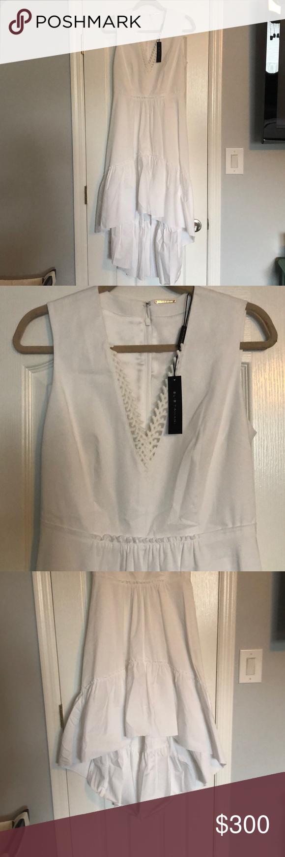 Brand New Elie Tahari White Dress Dress Brands Elie Tahari Dresses White Dress [ 1740 x 580 Pixel ]