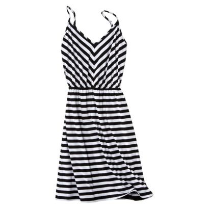 73ea910dadb Target  Mossimo Supply Co. V-neck skater dress  17.99  fashion  outfit   clothes  dress  mini  summer  vacation  stripe  striped  navy  blue  white   cute ...