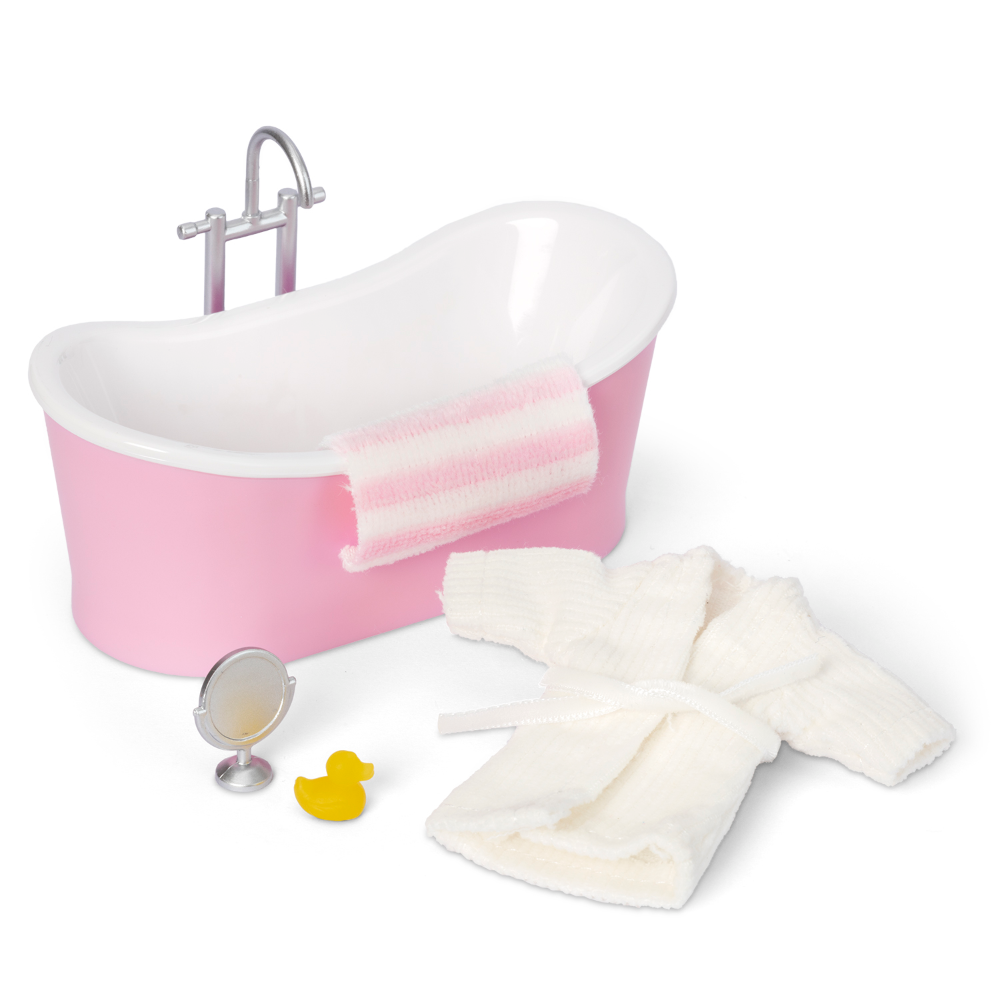 Lundby Free Shipping! Doll Smaland Bathroom Set