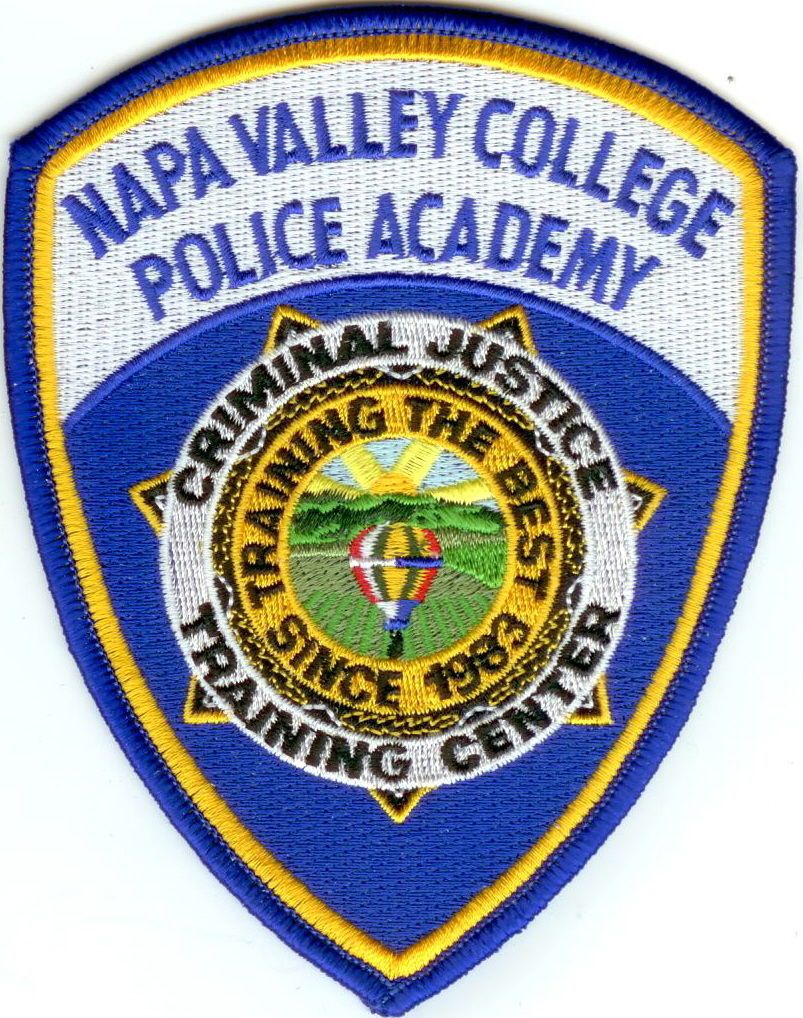 Napa Valley College Police Academy Police Patch California