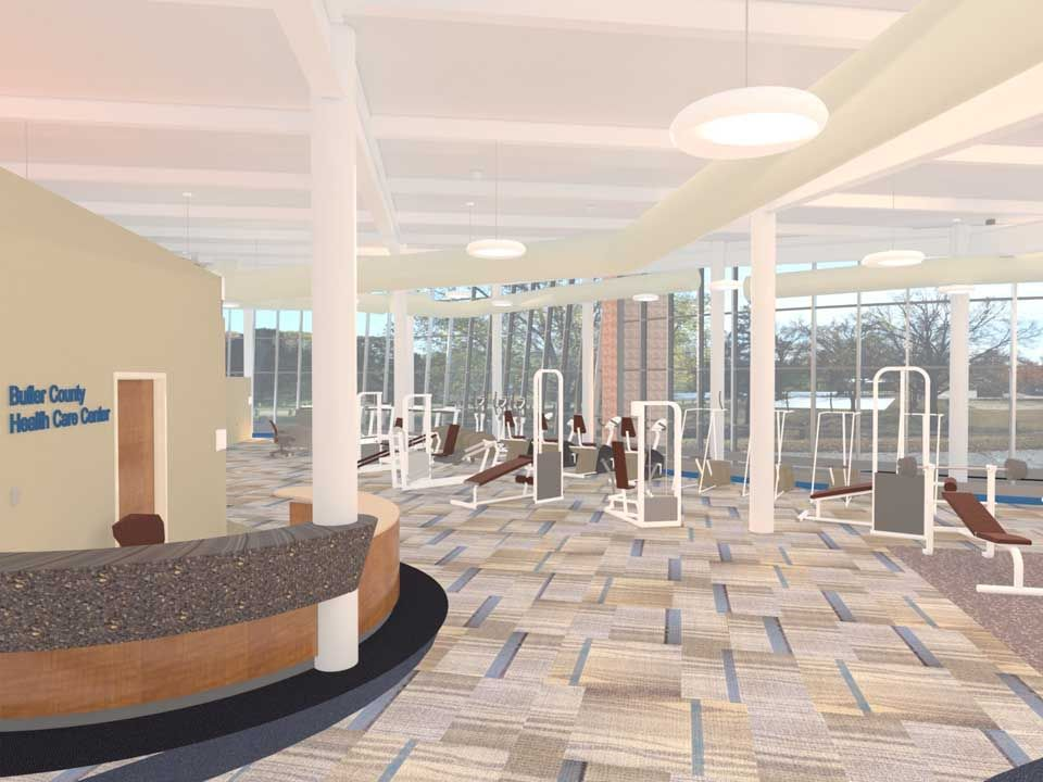 Physical therapy fitness facility designs google search for Physical therapy office layout