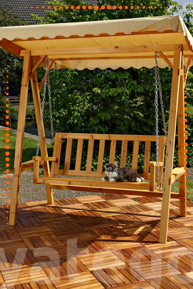 Holz Hollywoodschaukel Mit Dach Hollywoodschaukel Gartenschaukel Schaukelbank