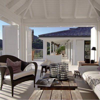Lille Lykke: Loungen op de veranda