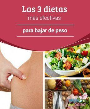 dietas naturales efectivas para adelgazar