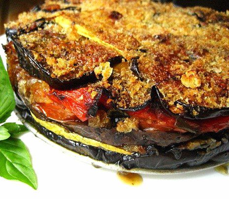 Grilled Vegetable Torte   23 Unexpected Appetizers You Can Make On The Grill