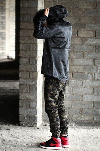 Pix For > Camo Jogger Pants With Jordans