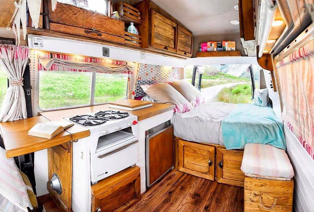 How To Design Your Camper Van Layout Camper Interior Design Van