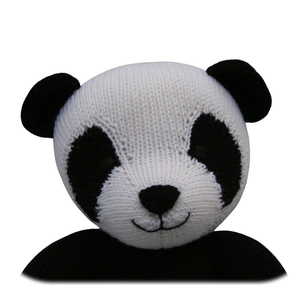 Panda (Knit a Teddy)   Panda, Knitting patterns and Change colour