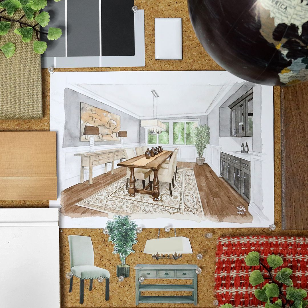 Monthly Moodboard Inspiration: Terrene Homes | Moodboard inspiration ...