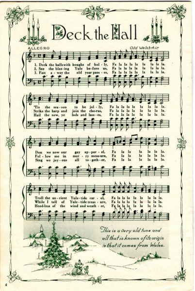 image regarding Free Printable Vintage Christmas Sheet Music identified as Remodelaholic 25+ Totally free Printable Basic Xmas Sheet