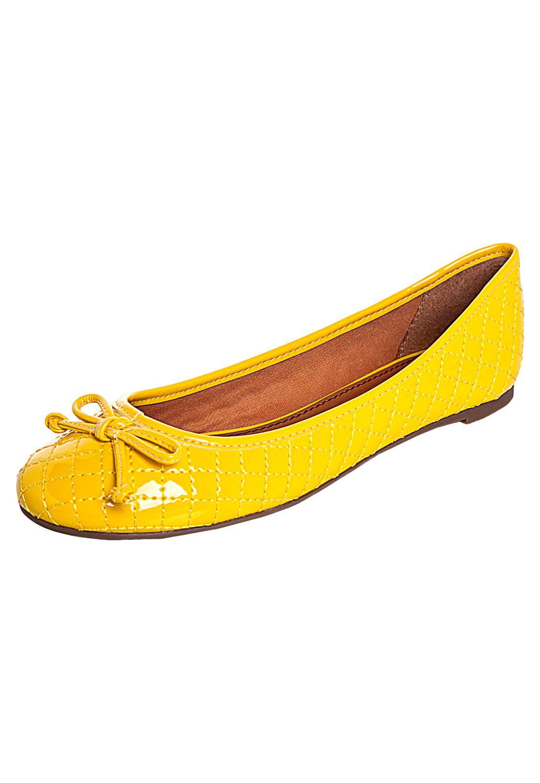 93836635672 Sapatilha Santa Lolla Color Amarela - Compre Agora